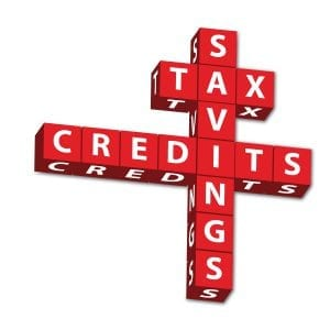 Tax and savings credits
