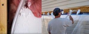 injection foam insulation in Coeur dalene