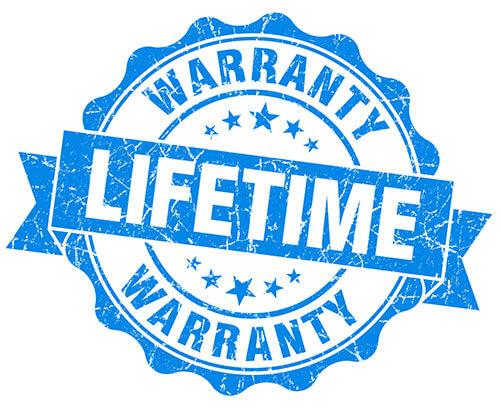 lifetime warranty foam insulation